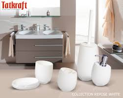 Amazon Bathroom Accessories by Collection Repose White From Tatkraft Amazon Uk Acrylic