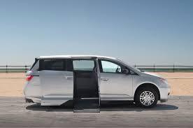 nissan titan qx56 conversion chrysler honda and toyota mobility vans motor trend