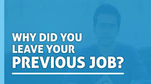 How To Answer Resume Questions Why Did You Leave Your Previous Job Interview Questions How To