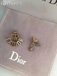 cd earrings jadior women cd bees stud earrings for sale