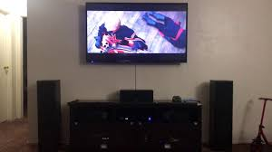 setting up home theater living room home theater set up 2017 youtube