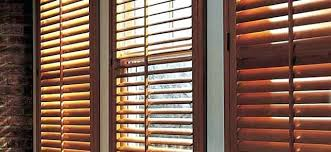 Wooden Plantation Blinds Wooden Plantation Shutters Uk Budget Blinds Dark Plantation