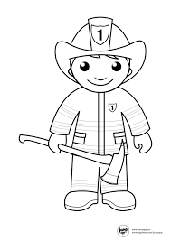 fireman printable coloring pages pinterest firemen