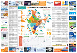Maps Of India by Eq Solar Map Of India 2016 Eq Int U0027l Magazine