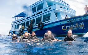 padi advanced open water kursus crystal dive resort