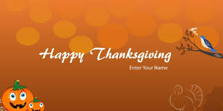 happy thanksgiving greeting card for powerpoint free