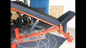 Flat And Incline Bench Diy Incline And Flat Powerlifting Bench Youtube