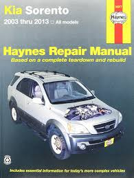 amazon com haynes repair manuals kia sorento 2003 2013 54077