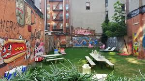 new york city backyard