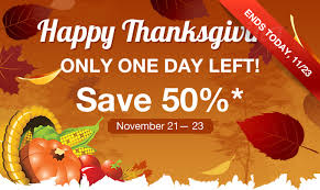 thanksgiving sale save 50 on iphone and android app ibuildapp