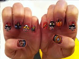 thanksgiving acrylic nail designs