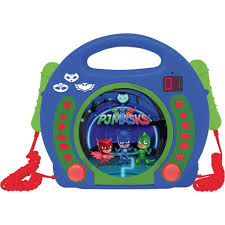 cd player kinderzimmer lexibook pj masks kinder cd player mit 2 mikrofonen kaufen