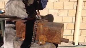 Backyard Blacksmithing How To Forge A Leaf Blacksmithing For Beginners Youtube