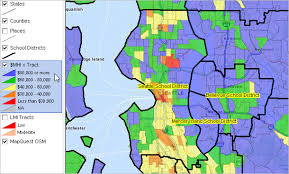 seattle map by district view of the day seattle schools decision