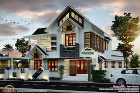 houses ideas designs super cute modern house plan kerala home design and floor plans