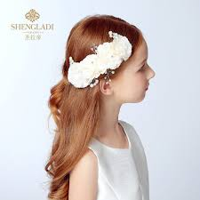 children s hair accessories buy children 39 s beautiful flowers bridal headdress flower