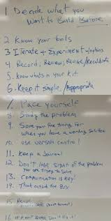 notes on productivity best practices for robotics competitions