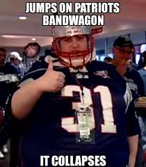 Nfl Bandwagon Memes - jumps on patriots bandwagon nfl memes sports memes funny memes