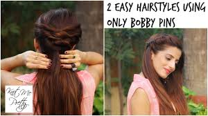 2 quick and easy twist hairstyles for college work