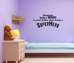 interior design amazing superhero wall decals for kids bedroom