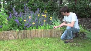 image landscape edging borders simple and cheap flower bed