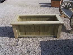 wood planter boxes wooden flower boxes abwood ie