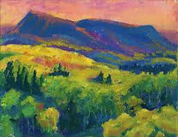 Abstract Landscape Painting by The Colorado Colors Art Collection Contemporary Abstract