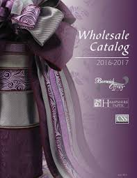 offray ribbon wholesale 2016 berwick offray wholesale catalog by lion ribbon issuu