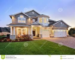 House Exterior Design Pictures Free Beautiful New Home Exterior Royalty Free Stock Photography Image