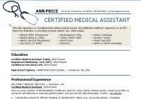 samples of medical assistant resumes brilliant ideas of real