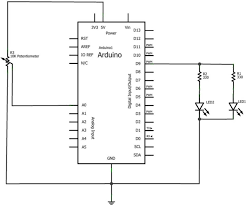 Led Blinking Circuit Diagram Twin Leds Make Basic Arduino Projects 26 Experiments With