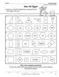 Similar And Congruent Figures Worksheet Shapes Quotes Like Success