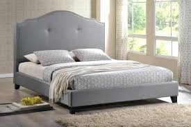headboard for full bed studio gray bed with upholstered headboard