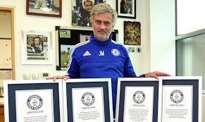 mourinho makes guinness book of records news official site