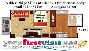 photo tour of a studio at the boulder ridge villas at disney u0027s