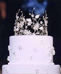 wedding cake jewelry crown cake top by expressions cake jewelry