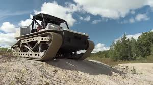 survival truck diy polaris rampage tracked side by side military vehicle recoil