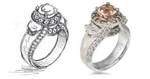 Design Your Own Wedding Ring by Unique Engagement Rings Unique Wedding Rings Diamonds By Krikawa
