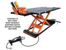 Motorcycle Lift Table by Motorcycle Lift Ebay