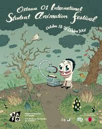 Awn Animation Ottawa 01 International Student Animation Festival Poster