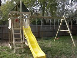 Best Backyard Swing Sets by Triton Diy Wood Fort Swingset Plans Jack U0027s Backyard