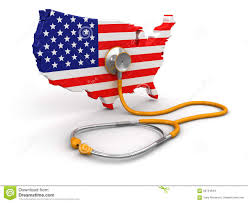Included by Map Of Usa With Stethoscope Clipping Path Included Stock
