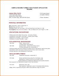 Model Resume For Teaching Job incredible sample resume formats 14 free sample resume templates