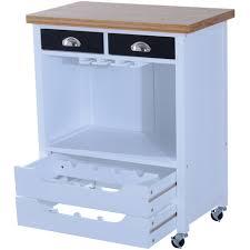 étagère à roulettes cuisine chariot desserte de cuisine multi rangements sur roulettes bois