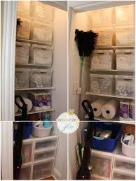 bathroom closet door ideas bathroom easy storage solution with linen closet organization and