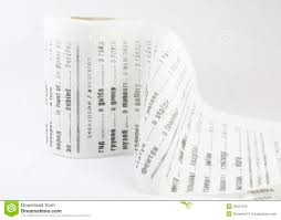Funny Toilet Paper Toilet Paper As Funny Russian English Dictionary On White