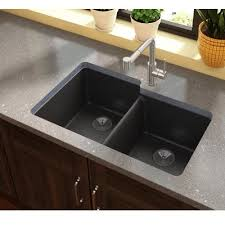 Elkay Quartz Luxe  X  Double Bowl Undermount Kitchen Sink - Double bowl undermount kitchen sinks