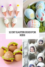 12 diy easter egg crafts to excite your kids shelterness