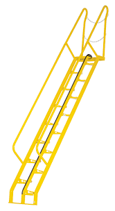 vestil alternating tread step ladders