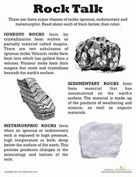 types of rocks 3 types of rocks worksheets worksheets for all download and